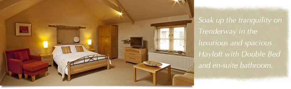 Trenderway Hayloft Suite